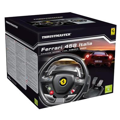 458-ITALIA-TM-2960734 steering racing wheel, thrustmaster