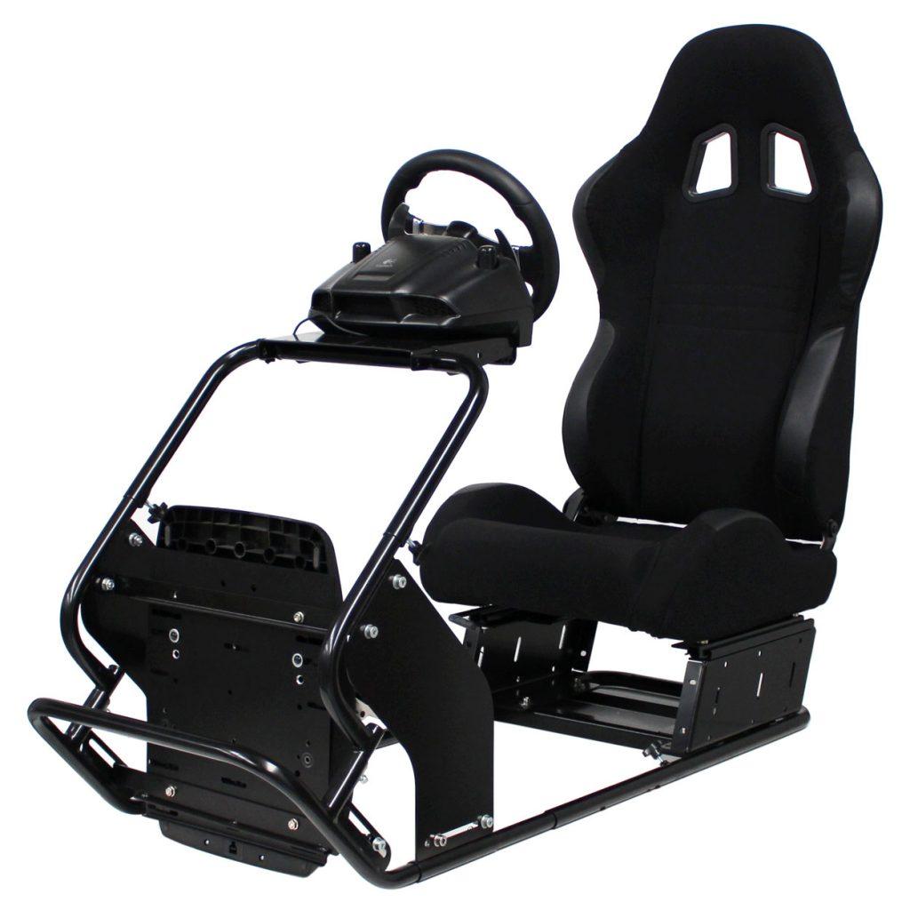 racing gaming simulator rig setup