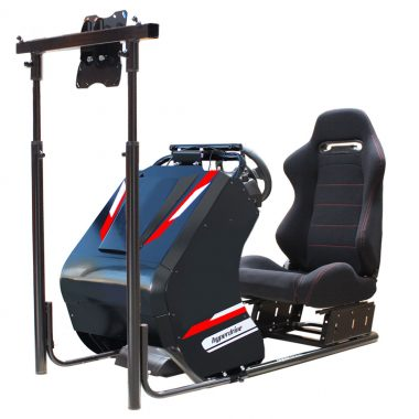 racing driving car simulator D-RS-100BC corporate simulator hire,racing simulator hire Sydney, Melbourne, Brisbane