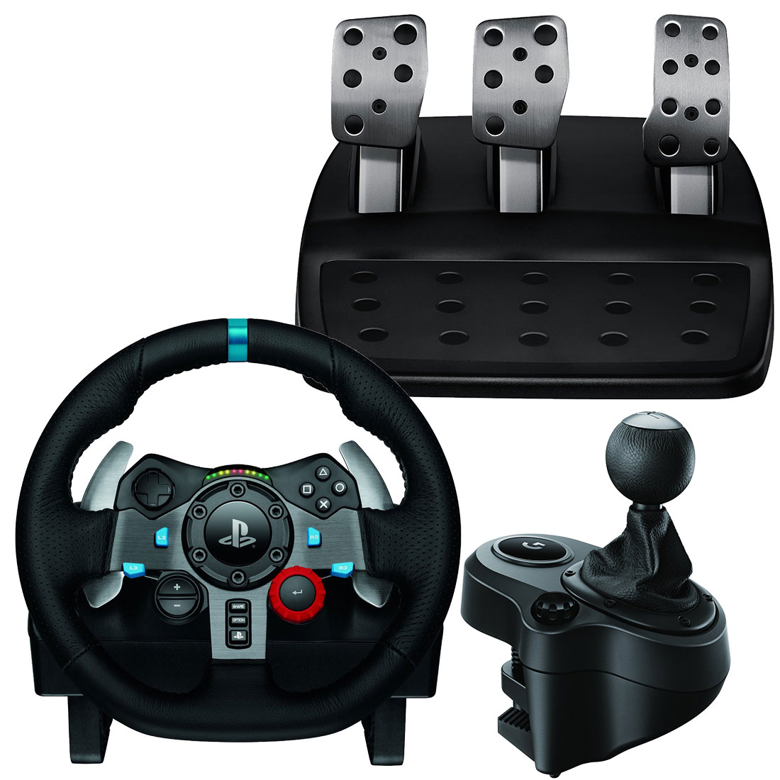 6f4fde5b4ef G29 racing wheel & pedals, gear shifter