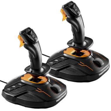 Thrustmaster Dual T.16000M FCS Joystick Space Sim Pack For PCflight controls, joystick