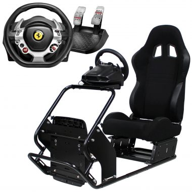 racing simulator, tx racing wheel, thrustmaster