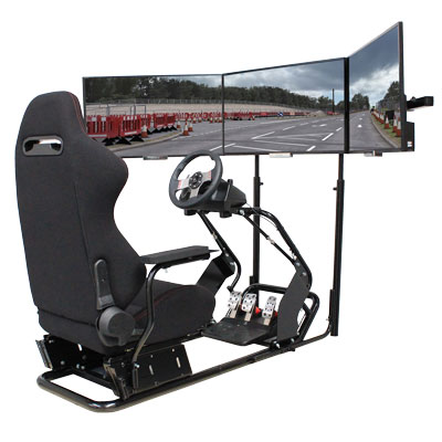 RACING SIMULATOR DISPLAY SCREENS