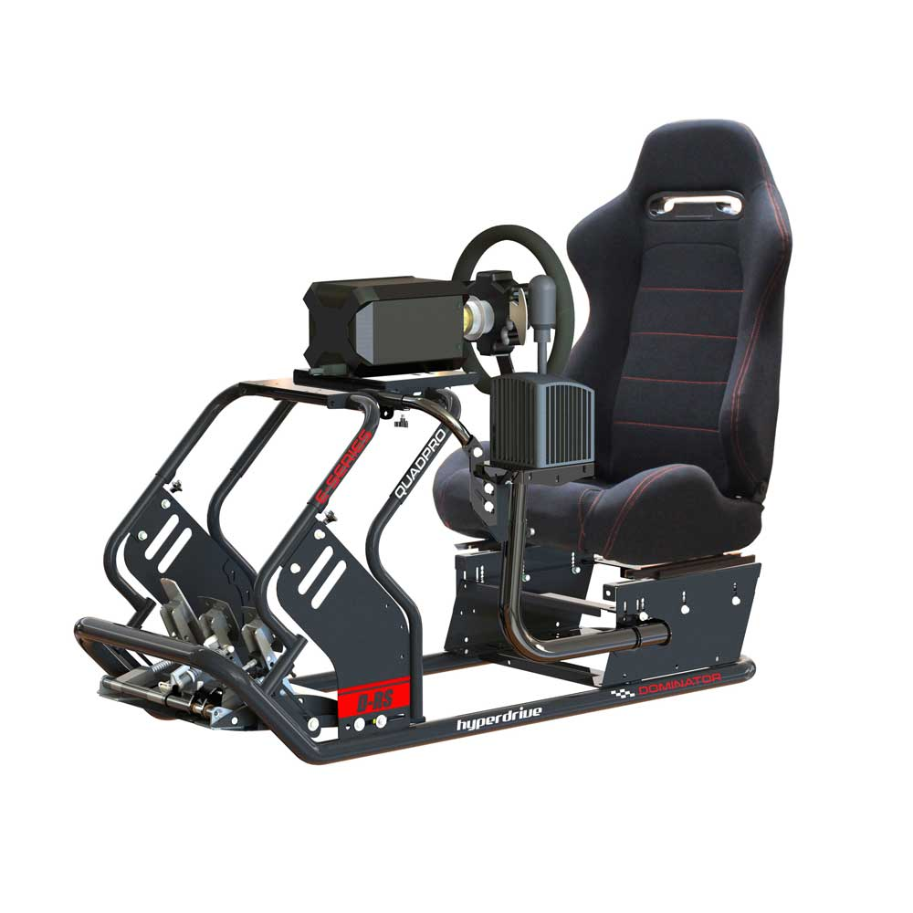 RACING SIMULATOR <BR> D-RS 50-S2 QUADPRO